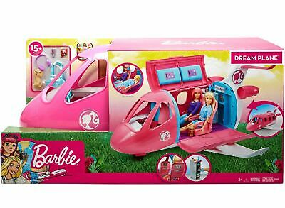 Barbie Dream Plane Playset Toy For Girls 3 4 5 6 Pretend Play Best New