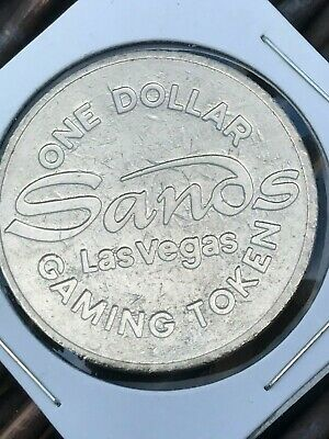 Vintage  Sands  Casino - Las Vegas Nevada - $1 Gaming Token  1985