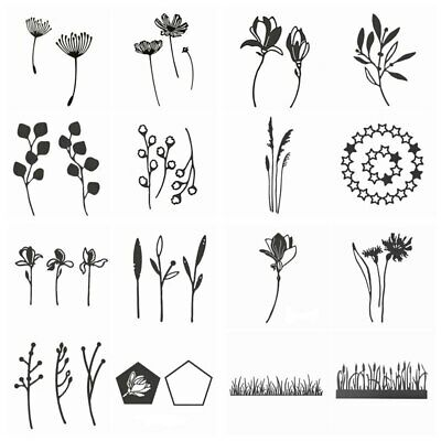 Spring Flowers Metal Cutting Dies Stencil For dIY Scrapbooking Paper Cards Craft
