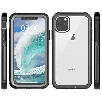 Fr iPhone 11 Pro Max 11 Pro Case Shockproof TPU+PC Built in Screen Protector