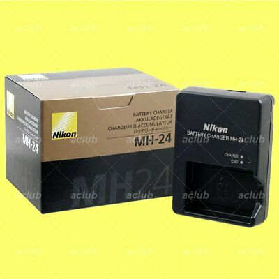 Genuine Nikon MH-24 Battery Charger for EN-EL14 EL14a D5600 D5500 D3400 D3300 Df