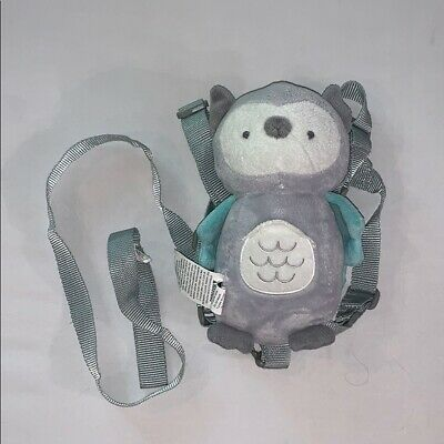 Carter's Owl plush backpack with leash