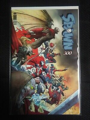 SPAWN #300 -  JEROME OPENA VARIANT COVER - McFARLANE