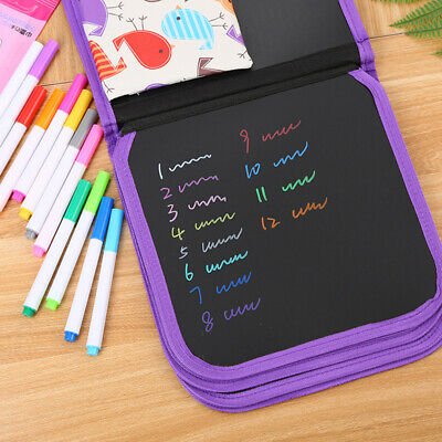 Erasable Magnetic Drawing Board Pad+ Pen Xmas Gift Educational Kids Doodle Toys-