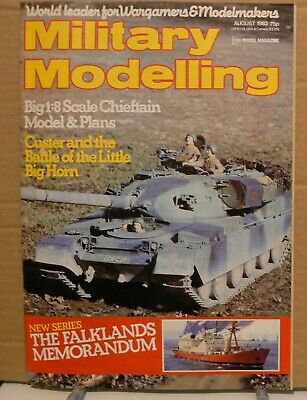 MILITARY MODELLING magazine - August 1982