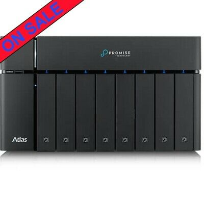 Promise ATLAS S8+ TB3 48tb DAS-NAS 4x12000gb Seagate IronWolf Pro Drives