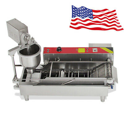 Commercial Electric Automatic Doughnut Donut Machine Maker Stainless steel New