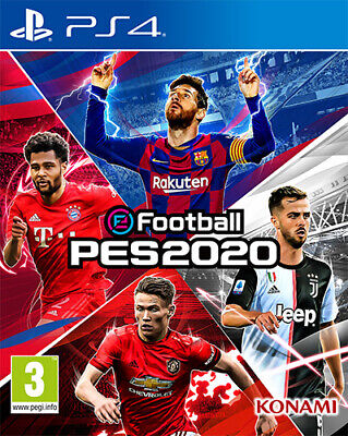 EFootball PES 2020 Play Evolution Soccer (Calcio) PS4 Playstation 4 KONAMI