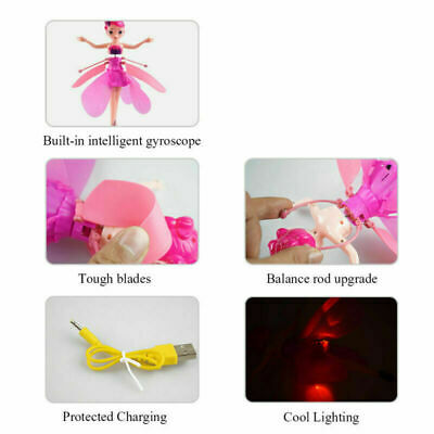 Induction Control Magic Flying Fairy Princess Dolls Cute Toys Xmas Creative Gift