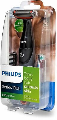 Philips Series 1000│Men's Body Hair Groomer Shaver & Trimmer│Waterproof│BG105/10