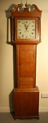 Early 19th c Oak Longcase 30hr Clock