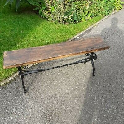 Up-cycled vintage furniture bench