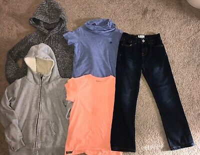 boys Age 10 Years bundle NEXT tops BENCH jacket ZARA Jeans TU Hoody Jumper