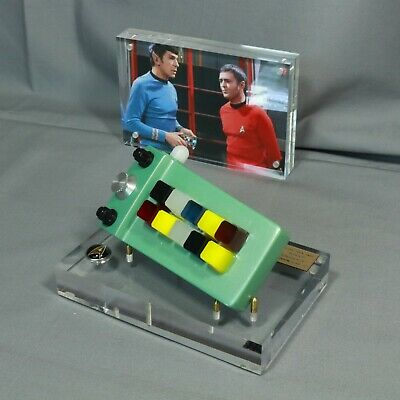 Star Trek, Spock's Calculator,Translucent Buttons, Display, With Photo