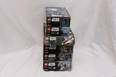 Lego Star Wars Lot of 6 Kit All Complete - 75003 75182 75168 75183 75121 75173