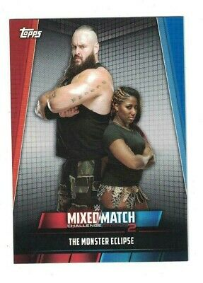 2019 Topps WWE Women's Division MIXED MATCH CHALLENGE 2 Set (25) MOON/ LANA +