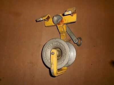 GMP General Machine Products Aerial Copper Fiber D Cable Block Roller Reel 603-2