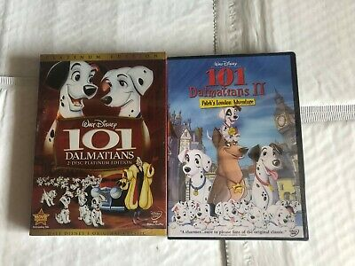 101 Dalmations 1-2 DVD 2-Movies Brand New Free Shipping