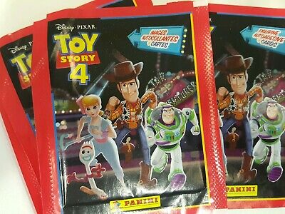 22 Stickers Panini Disney Pixar Toy Story 4 Collection Album Starter Pack