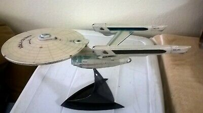 "2007 Star Trek 2 USS Enterprise NCC-1701 The Wrath of Khan 16"" model"