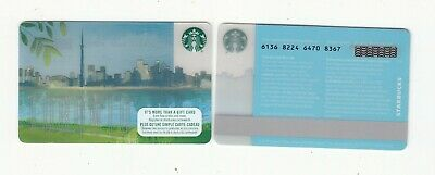 Starbucks TORONTO skyline gift card NO VALUE collectors only