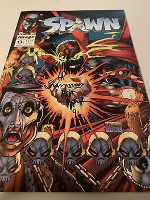 Spawn Issue 13 Al Simmons Signed With C.O.A VF/NM Or Better