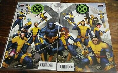 House of X #4 & Powers of X #4 Jorge Molina Connecting Variant Cover Set NM+