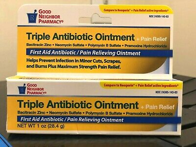 Triple Antibiotic Ointment Pain Relieving - 1 oz