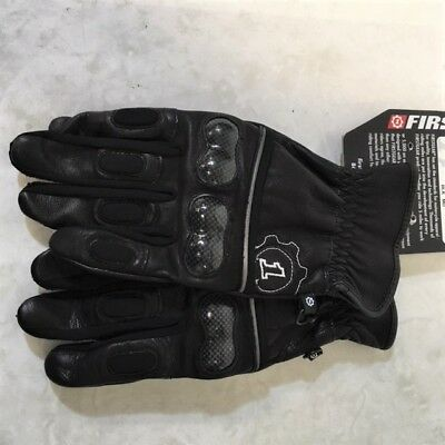 FIRSTGEAR Route 36 Gloves (Clearance) Size L (Black)  Mfr# 516145