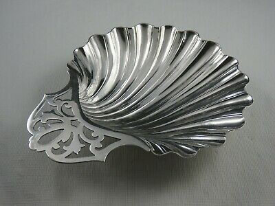 Frank M. Whiting Co. Sterling Silver Candy Dish. Sea Shell / Clam Shell