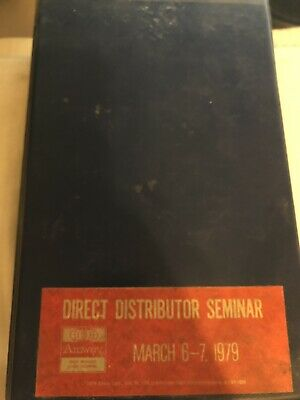 AMWAY Direct Distributor Seminar March 6-7 1979 Motivational Cassette Tapes WOW!