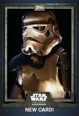Star Wars Card Trader 2019 CTI Wave 5 Stormtrooper Illustrated Gray Digital