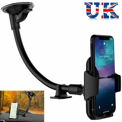 360° Windscreen Car Phone Holder Mount For iPhone 7 8P X XS MAX Samsung S8 UK