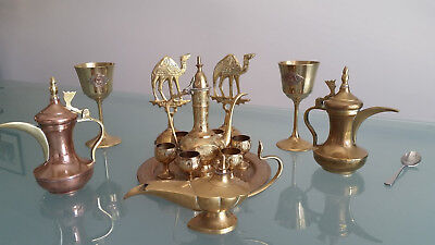 Vintage Brass Ornaments. 15 Pieces In All. In Nice Condition. Look !