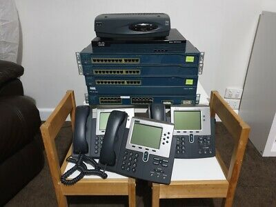 Cisco Lab ( Routers, switches, VoIP phones ICND CCNA CCNP )