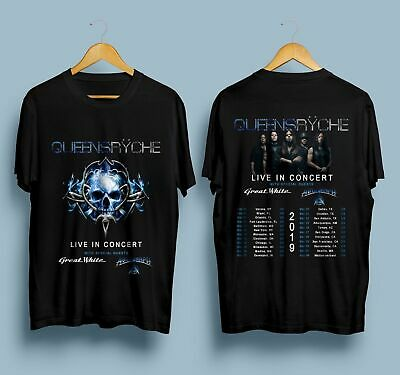 Limited! Queensryche Live In Tour Dates 2019 T-Shirt Size S-5XL