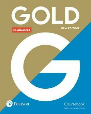 Gold C1 Advanced New Edition Coursebook by Sally Burgess 9781292202198