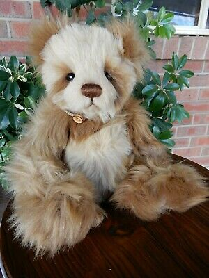 10th Anniversary Isabelle - 2015 Charlie Bears Exclusives 30cm plush teddy bear