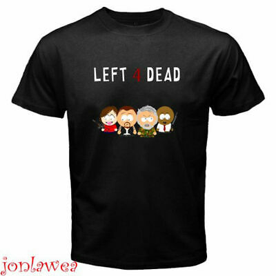 Limited! Left 4 Dead South Kenny Funny Cartoon Game T-Shirt Size S-5XL