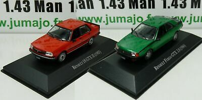 LOT 2 Voiture 1/43 SALVAT Autos Inolvidables: Renault 18 GTX II et Fuego GTX 2.0