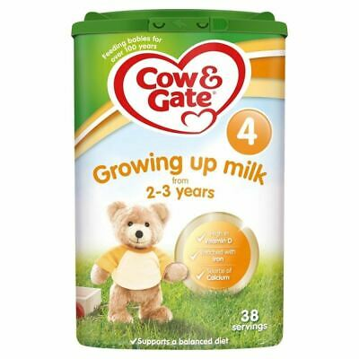 Cow & Gate Stage 4 Growing Up Milk 2-3 Years - 800g