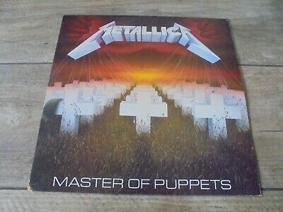 Metallica - Master Of Puppets 1986 UK LP MUSIC FOR NATIONS 1st
