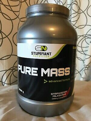 Pure Mass advanced formula 3 kgs parfum fraise