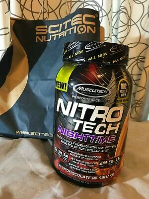 Muscletech Nitro Tech NightTime 907g Triple chocolat 25 services