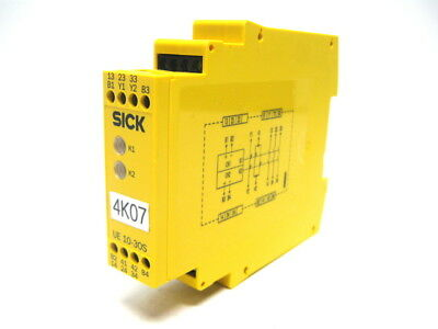 Sick UE10-3OS2D0 Safety Relay 24 Vdc 6024917