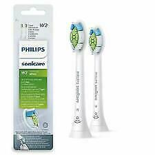 2 Philips Sonicare W2 Optimal White Brush Heads New And Sealed White