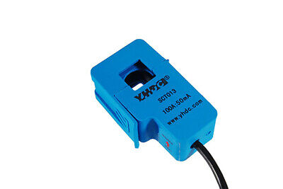 YHDC SCT013 variations: input 5A-100A / output 50mA/1V, ±1%