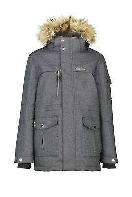killtec Jungen Winterjacke Kaapo Denim Jr Outdoorjacke