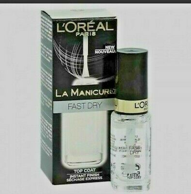 Loreal La Manicure 2 in 1 protect base and top coat. Lasting chip resistance New