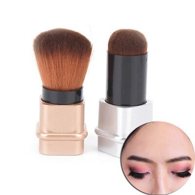 Cosmetic Retractable Foundation Makeup Brush Blusher Face  Brushes Tool~GN